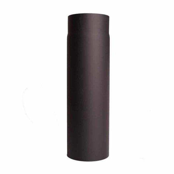 120 mm-es füstcső, 0,5 méteres, 1,5 mm vtg.