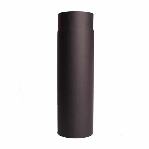 130 mm-es füstcső, 0,5 méteres, 1,5 mm vtg.