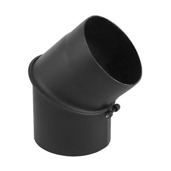 120 mm-es, 45 fokos állítható könyök, 1,5 mm