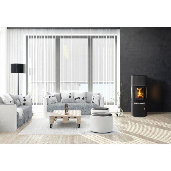 ABX Atrium 7 7 kW modern zárt égésterű panoráma kandallókályha
