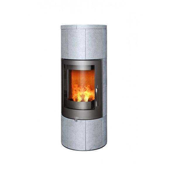 ABX Porto 6 kw hőtárolós modern zárt égésterű kandallókályha