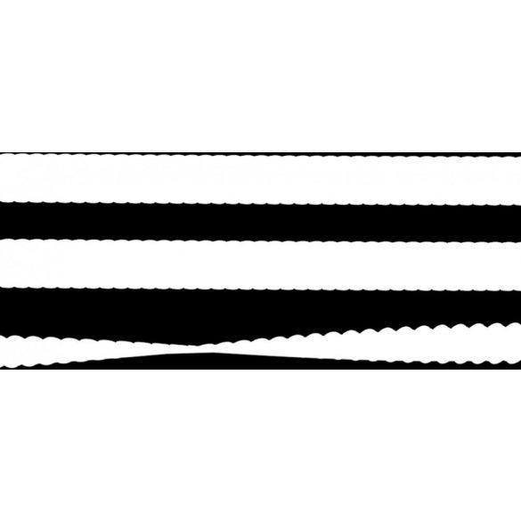 Öntapadós fehér kerámia zsinór 1 méter 10mm*2mm