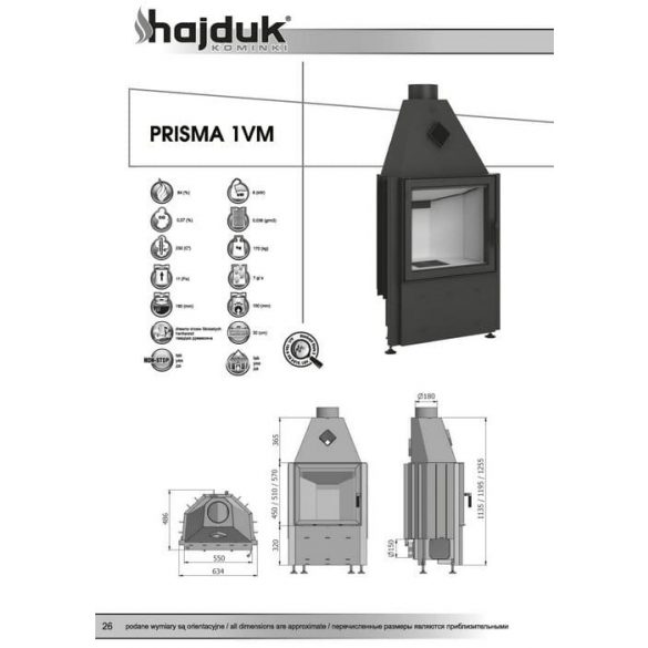 HAJDUK PRISMA 1 VM