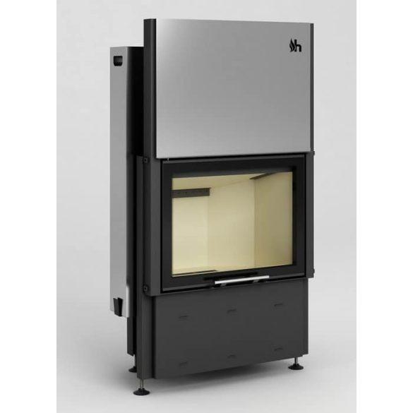 Hajduk Prisma 1VTH 9,5 kW modern zárt égésterű kandallóbetét