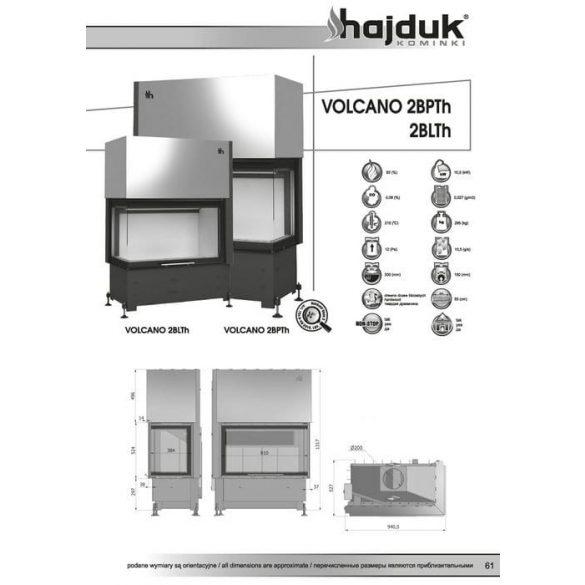 Hajduk Volcano 2 BTH jobb