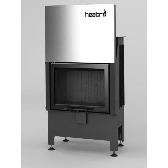 Hajduk Heatro 55H Black edition modern zárt égésterű kandallóbetét