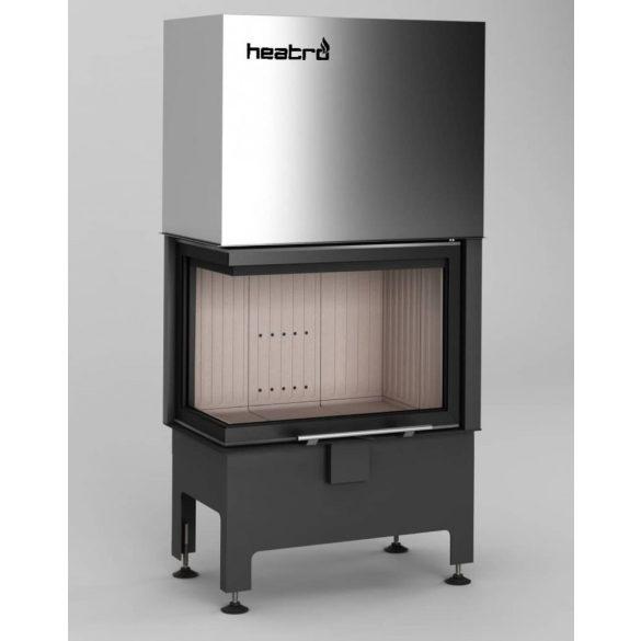 Hajduk Heatro 55LH, modern, zárt égésterű balos sarok kandallóbetét