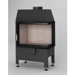 Hajduk Heatro 55P, modern, zárt égésterű jobbos sarok kandallóbetét