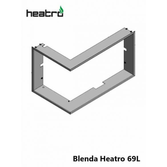 Hajduk Heatro 69 tűztérhez balos sarok keret nyíló
