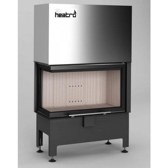 Hajduk Heatro 69LH modern zárt égésterű balos sarok kandallóbetét