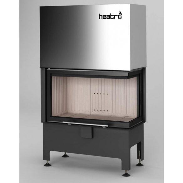 Hajduk Heatro 69PH modern zárt égésterű jobbos sarok kandallóbetét