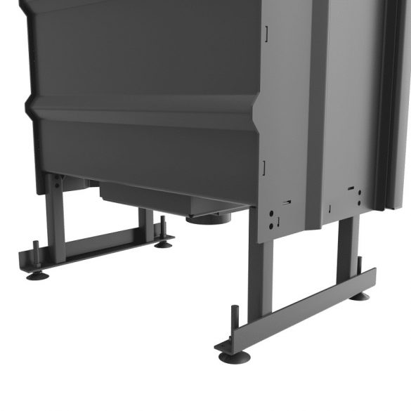 KFD ECO 70 Bal 14 kW sarok kandallóbetét hőtárolós samott égéstérrel