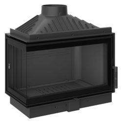 KFD ECO MAX i 7 Standard Bal: 11,5 kW-os modern öntöttvas sarok kandallóbetét