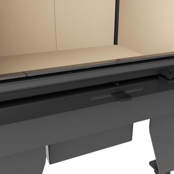 KFD ECO iLine 5161 BAL Low 8 kW modern zárt égésterű sarok kandallóbetét