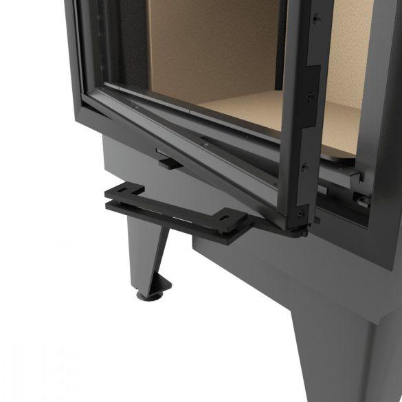 KFD ECO iLine 5161 Jobb Low 8 kW modern zárt égésterű sarok kandallóbetét
