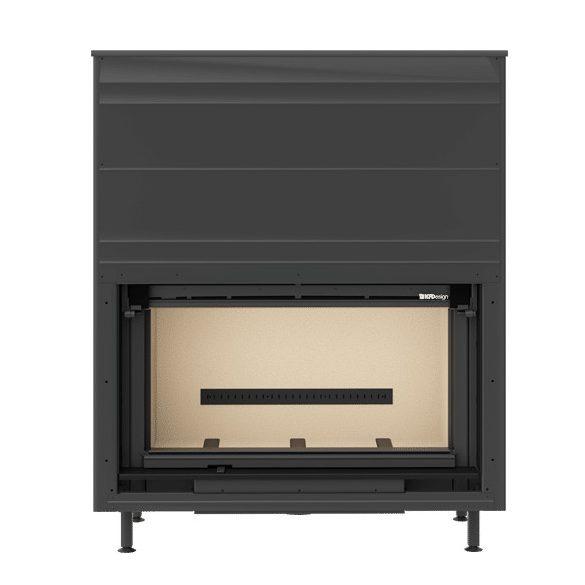 KFD Linea 1050 3.0, 11 kW modern zárt égésterű panoráma kandallóbetét