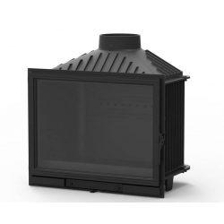 KFD Eco Lux/Max 14: 14 kW-os modern öntvény kandallóbetét pillangószeleppel