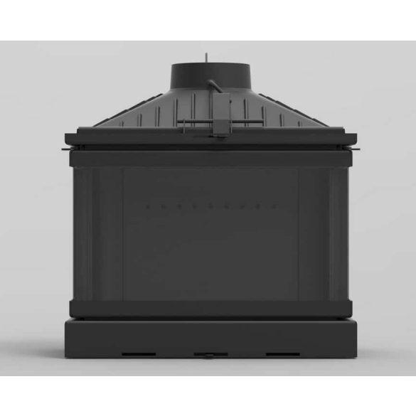 KFD ECO MAX 7 3F BASIC 14 kW modern öntöttvas panoráma kandallóbetét