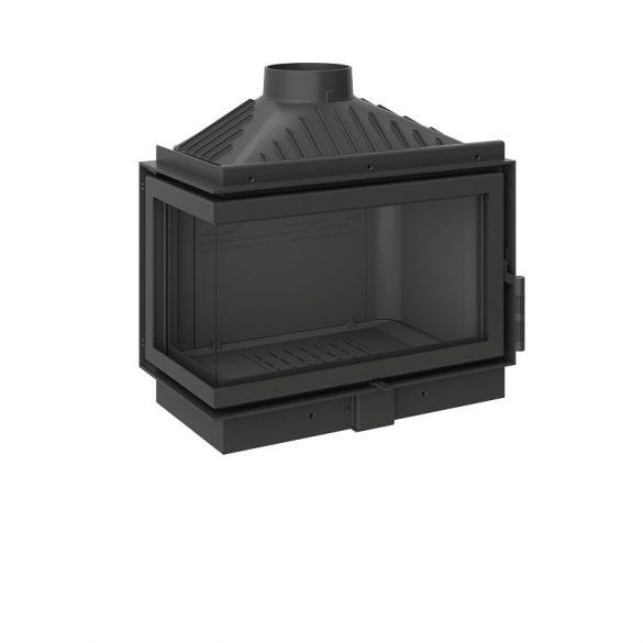 KFD ECO MAX 7 Standard BAL: 11,5 kW-os modern öntöttvas sarok kandallóbetét