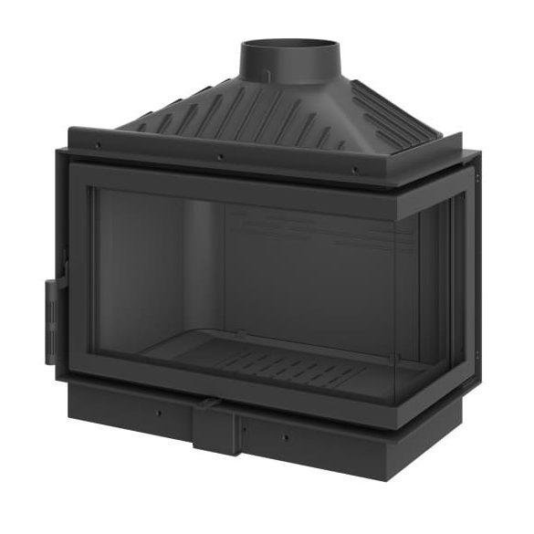 KFD ECO MAX 7 Standard jobb: 11,5 kW-os modern öntöttvas sarok kandallóbetét