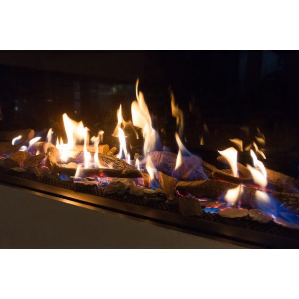 DF Oval XL GS, zárt égésterű, gázüzemű, kéményes mobilkandalló