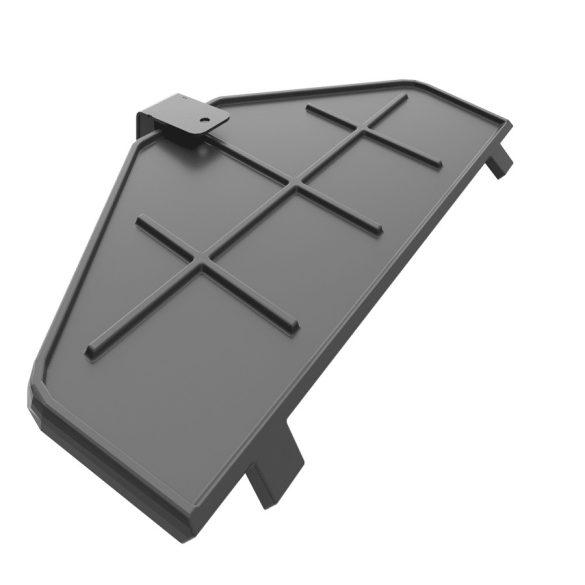 KFD STO M 14 Bal 14kW modern öntöttvas sarok kandallókályha