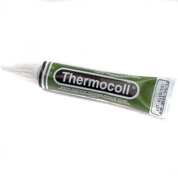 Hőálló ragasztó kandalló ajtó tömítéshez Thermocoll