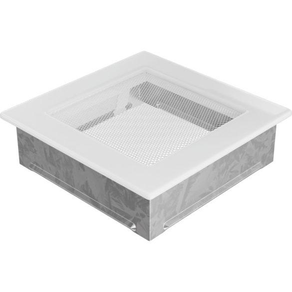 Fehér 17x17 cm-es, egyszerű szellőzőrács