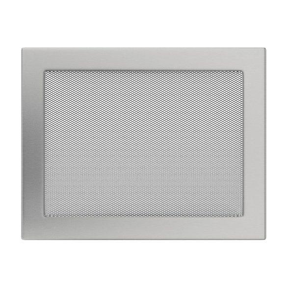 Inox, 22x30 cm-es, szellőzőrács
