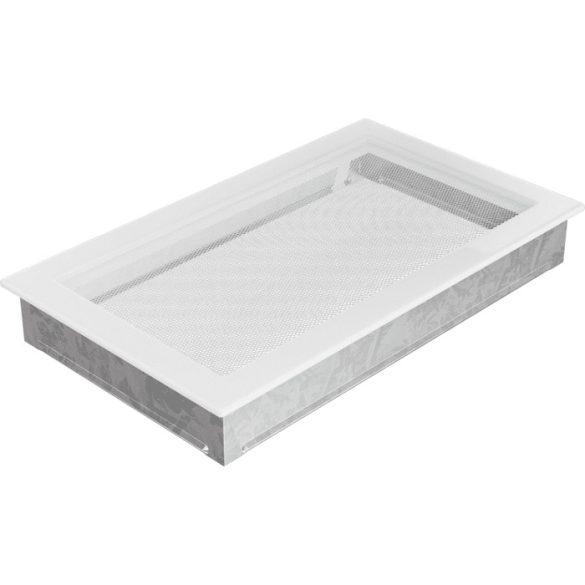Fehér 22x37 cm-es, egyszerű szellőzőrács