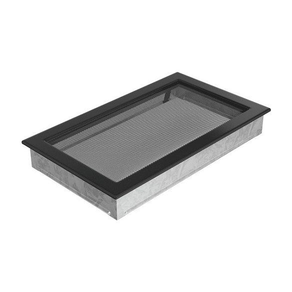 színes, 22x37 cm-es, egyszerű szellőzőrács fekete