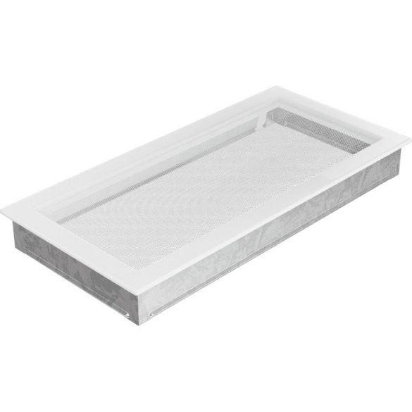 Fehér 22x45 cm-es, egyszerű szellőzőrács