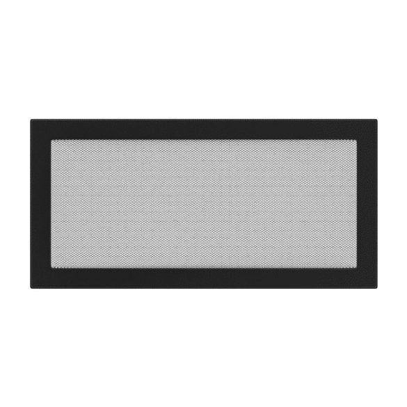 színes, 22x45 cm-es, egyszerű szellőzőrács fekete