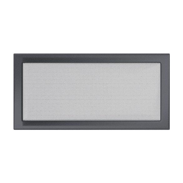 színes, 22x45 cm-es, egyszerű szellőzőrács grafit