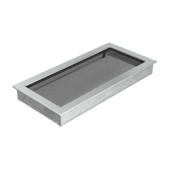 Inox, 22x45 cm-es, szellőzőrács