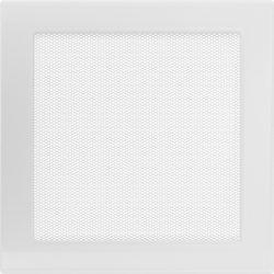 Fehér 22x22 cm-es, egyszerű szellőzőrács