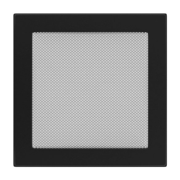 színes, 22x22 cm-es, egyszerű szellőzőrács fekete
