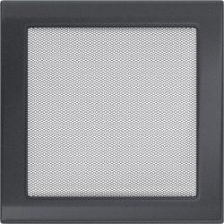 színes, 22x22 cm-es, egyszerű szellőzőrács grafit