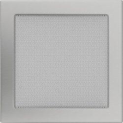 Inox, 22x22 cm-es, szellőzőrács