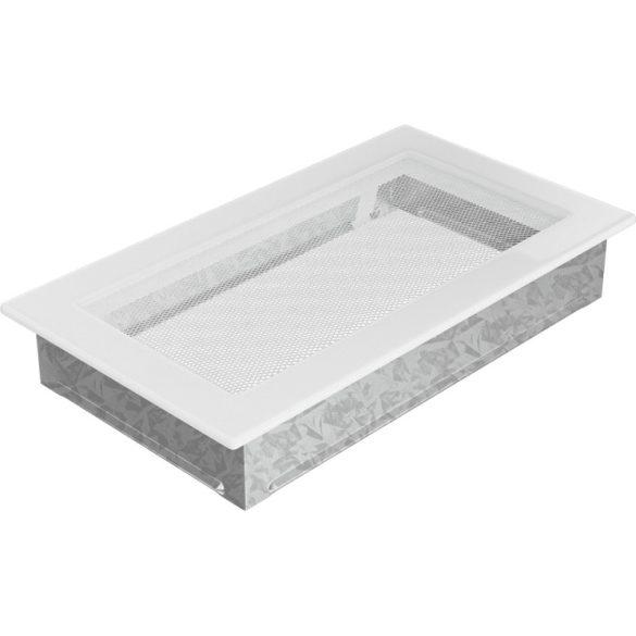 Fehér 17x30 cm-es, egyszerű szellőzőrács