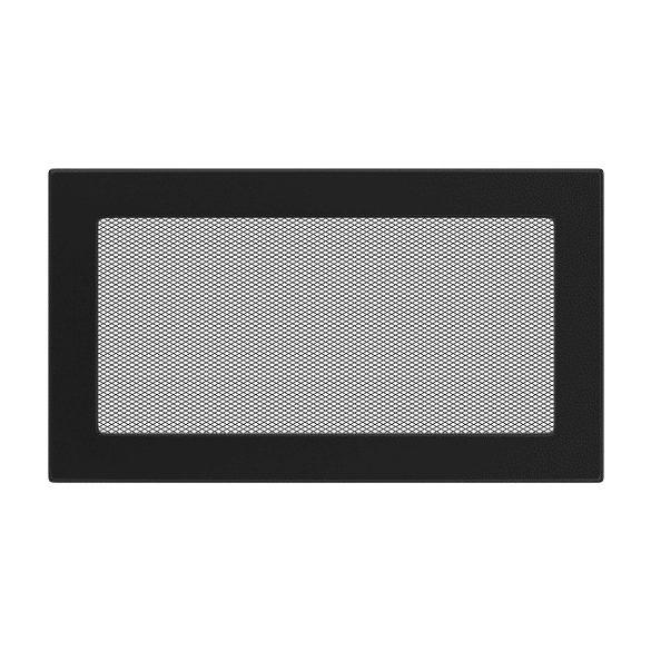 színes, 17x30 cm-es, egyszerű szellőzőrács fekete