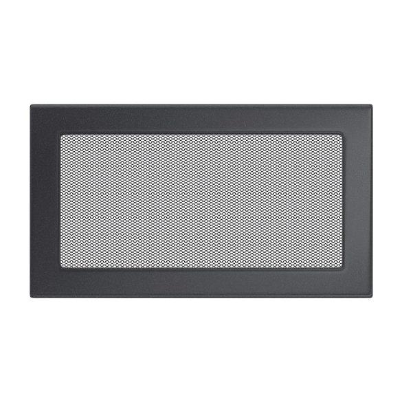 színes, 17x30 cm-es, egyszerű szellőzőrács grafit