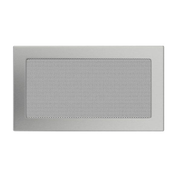 Inox, 17x30 cm-es, szellőzőrács