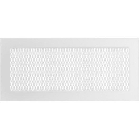 Fehér 17x37 cm-es, egyszerű szellőzőrács