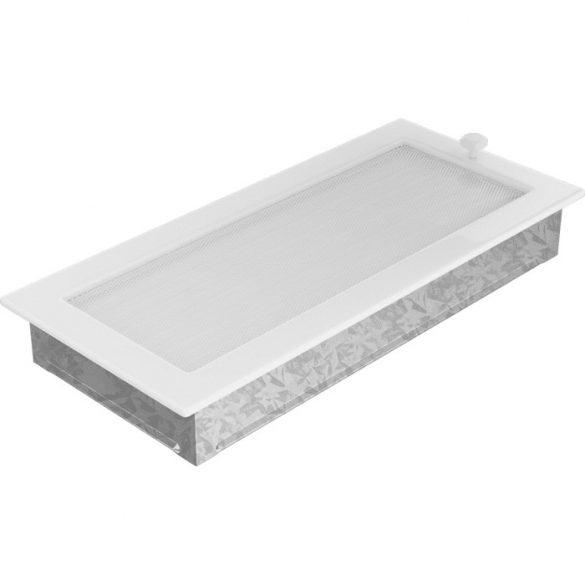 Fehér 17x37 cm-es, zsalus szellőzőrács