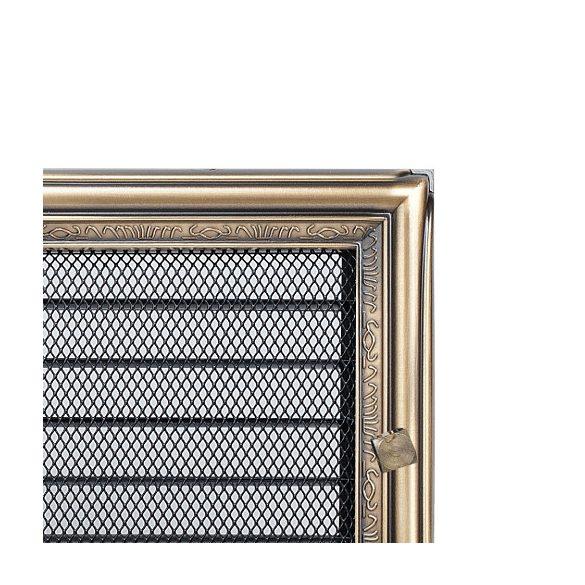 Antikolt, 17x37 cm-es, zsalus szellőzőrács