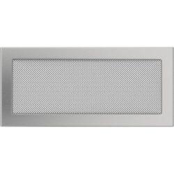 Inox, 17x37 cm-es, szellőzőrács