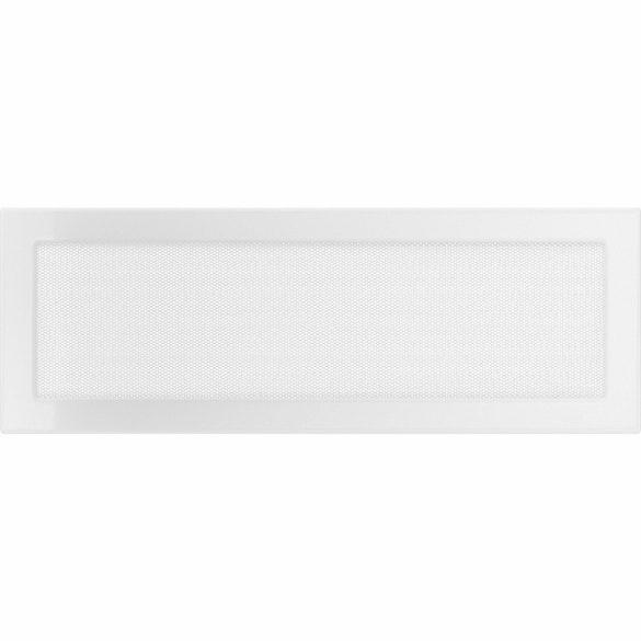 Fehér 17x49 cm-es, egyszerű szellőzőrács