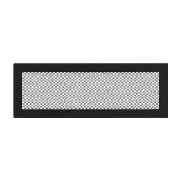 színes, 17x49 cm-es, egyszerű szellőzőrács fekete