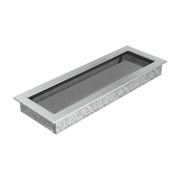 Inox, 17x49 cm-es, szellőzőrács